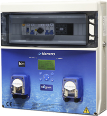 Complete automated pool maintenance with Klereo Kompact+